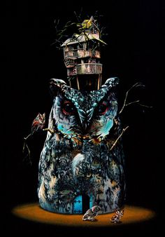 Juxtaposing Animals in Surreal Scenarios - My Modern Metropolis