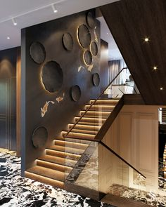 Amazing Luxury Interior Design That Will Make Your Home Inspiration Decoration Modern Staircase Amazing decoration design Home Inspiration interior Luxury Home Stairs Design, Railing Design, Interior Stairs, Modern House Design, Loft Design, Railing Ideas, Staircase Design Modern, Luxury Staircase, Stair Design