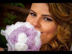 un beau bouquet Roses Au Crochet, Crochet Bouquet, Crochet Flowers, Crochet Wedding, Rose Bouquet, Crochet Projects, Wedding Bouquets, Youtube, Knitting