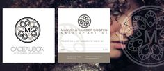 Huisstijl ontwerp Manuela van der Gugten, Make-up Artist. Ontwerp: logo, concept, visitekaartjes en cadeaubon.