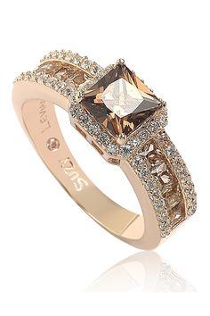 Cute Jewelry, Vintage Jewelry, Jewelry Ideas, Jewlery, Chocolate Diamond Wedding Rings, Elegant Engagement Rings, Bridal Rings, Rose Gold Plates, Princess Cut