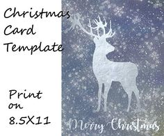Christmas card template Christmas clipart merry christmas