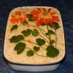 Многослойный салат «Петроградский»