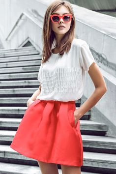 Zipper Fly Solid Color Pleated Skirt http://www.zaful.com/zipper-fly-solid-color-pleated-skirt-p_69750.html?lkid=8338