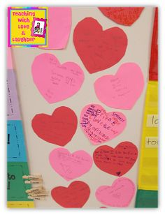 Teaching With Love and Laughter: Sweet Sentiments Activity