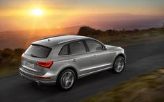 GREY AUDI Q5 GICLEE CANVAS ART PRINT POSTER