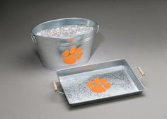 Clemson University Galvanized Tray-- $25.00