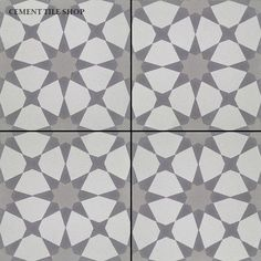 INSPIRED BY CEMENT ENCAUSTIC TILE