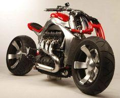 Roger Allmond built Triumph Rocket III