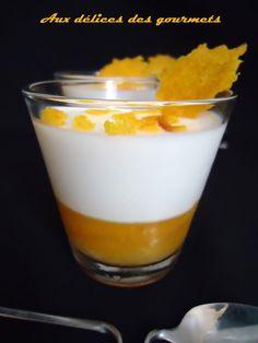 Aux délices des gourmets: PANNA COTTA SUR GELÉE  D'AGRUMES