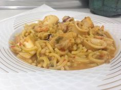 Receta de Fideuá, Monsieur Cuisine SilverCrest Lidl - YouTube