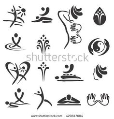 Find Spa Massage Icons Set Black Icons stock images in HD and millions of other royalty-free stock photos, illustrations and vectors in the Shutterstock collection. Logo Massage, Face Massage, Spa Massage, Massage Therapy Business Cards, Massage Business, Chiropractic Logo, Spa Business Cards, Business Products, Massage Marketing