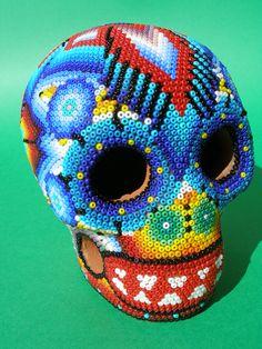 Huichol Clay Calavera