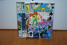 4  X Factor comics from 1987 by HobbyHaven on Etsy, $3.25