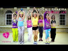 8 Zumba Workouts to Shakira's Music That'll Have You on Your Feet in Seconds Dance Workout Videos, Zumba Videos, Choreography Videos, Dance Videos, Dance Exercise, Exercise Videos, Diet Exercise, Shakira Body, Shakira Dance