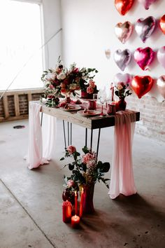 This Modern Valentine's Elopement Inspiration is for the Coolest of Couples Valentine Theme, Valentines Day Weddings, Valentines Day Party, Valentines Day Decorations, Valentine Heart, Red Wedding, Wedding Colors, Wedding Day, Elopement Inspiration