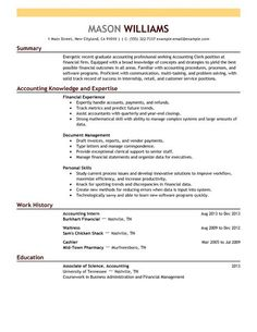 Accounting Assistant Resume Inspiration Great Ways To Showcase Your Skills On A Modern Resume Resume .