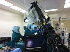 www.psavideo.com production activity shooting a live surgery for our client Depuy.