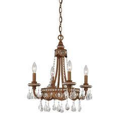 Quoizel 4 Light Chandelier