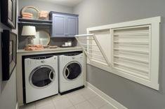 Wäschereiräume waschmaschine zeitgenössische super smart idee