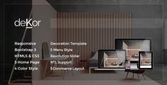deKor – Responsive Interior HTML Template (Corporate)