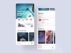 Redesign Snapptrip Application by Farshid Darvishi for RonDesignLab on Dribbble Mobile Ui Design, App Ui Design, Design Design, Dashboard Design, Interface Design, Flat Design, User Interface, Graphic Design, Desing Inspiration