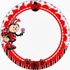 Smiling Ladybugs: Free Printable Wrappers and Toppers. Baby Ladybug, Ladybug Party, Free Printable Art, Free Printables, Lady Bug, Candy Bar Labels, Diy And Crafts, Paper Crafts, Spring Crafts For Kids