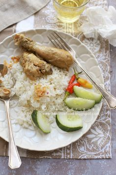 Cooking Tackle: Java Chicken Curry, Opor ayam