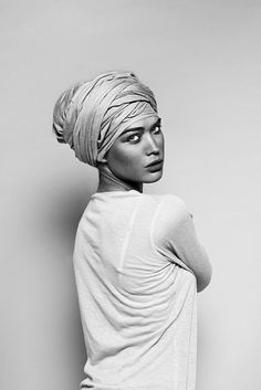 turban is a nice option for my friend who lost her hair to cancer.
