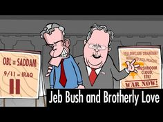 Mark Fiore - Jeb Bush and Brotherly Love - YouTube