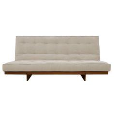 Sofa futon casal Chelsea Coleção Uniques Estrutura: modelo Quadro L, madeira maciça eucalipto interno Futon: modelo Sharp 16…