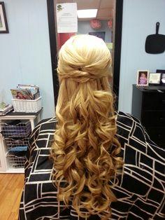 Stunning long, luscious hair