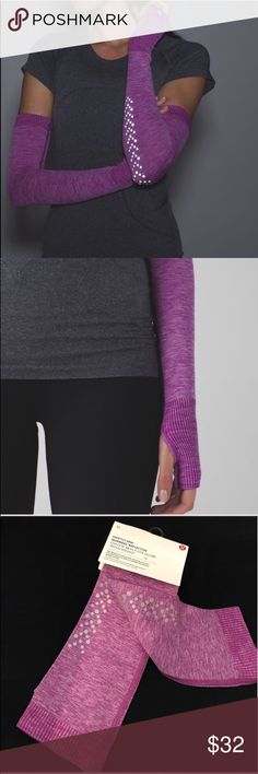 Lululemon Swiftly Arm Warmer Reflective NWT M/L BUY IS BUNDLED FOR BEST PRICE.                         Lululemon Swiftly Arm Warmer Reflective NWT M/L HULT. 📌NO TRADES📌. lululemon athletica Accessories