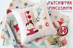 The Polkadot Chair: Patchwork Pincushion Tutorial