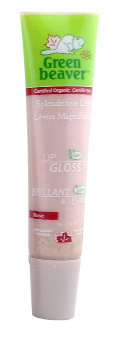 New from Green Beaver! Splendicious Lips Lip Gloss Rose