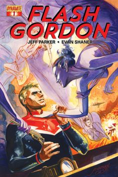 New Flash Gordon comic coming from Dynamite Entertainment! Art by Evan Shaner!!