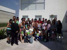 Alumnos de la Facultad de Arquitectura y Diseño de la Universidad Autónoma del Estado de México al finalizar Clase de Joyería de Plata con Art Clay