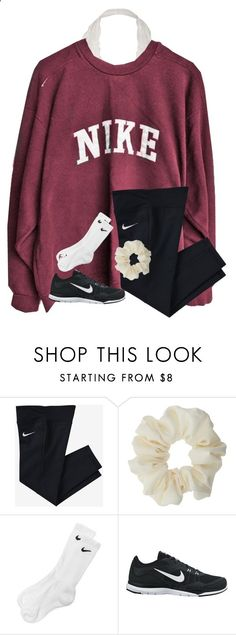 Im getting my braces off in 2 weeks! by ponyboysgirlfriend ❤ liked on Polyvore featuring NIKE and Miss Selfridge