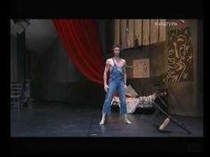 """Marie-Agnès Gillot and Nicolas Le Riche in Roland Petit's """"Le Jeune Homme et la Mort"""", Paris Opera Ballet 2005."""
