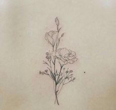 Tags mais populares para esta imagem incluem: tattoo, delicate tattoo e  flower tattoo | tattos | Pinterest | Design, Flower and Ideas