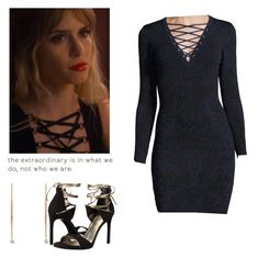 Brooke Maddox date outfit - mtv scream by shadyannon on Polyvore featuring polyvore fashion style John & Jenn Stuart Weitzman Raphaele Canot clothing