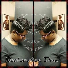 Short Styles, Short Cuts, Hairstyle www.restorationdiva.com