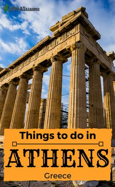 Are you heading to Greece? Don't miss out on what Athens has to offer. We spent 4 full days there exploring and loved it. Here is our list of things to do in Athens. And even some unique things to do in Athens for you too.