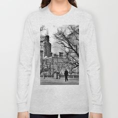 Last Man in Chicago Long Sleeve T-shirt