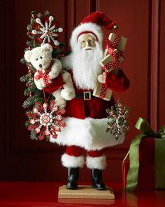 My Christmas Bear Santa by Lynn Haney at Neiman Marcus.