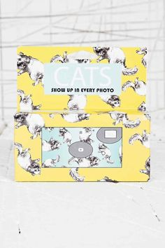 Cats disposable camera, £15 | 48 Lovely Little Stocking Fillers Under £15