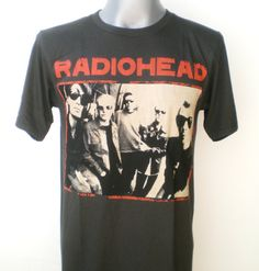 RADIOHEAD  Rock Music Tshirt  Women Tshirt  Black by 99rockshop, $14.99