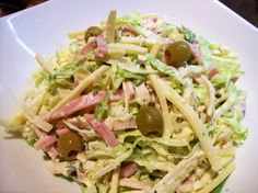 Hudson's Maurice Salad. From Detroit ...now can get at Macys. Famous, unique...spectacular!!!