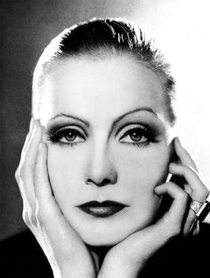 """""""Anyone who has a continuous smile on his face conceals a toughness that is almost frightening..."""": Greta Garbo"""