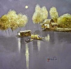 Dang Can, 1957   Landscape/Figurative painter   Tutt'Art@